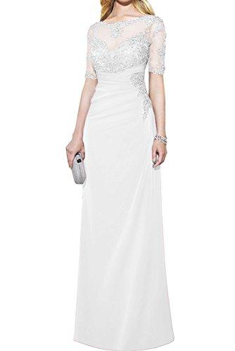 Kurzarm 2017 Promkleider Abendkleider Neu Weiß Bodenlang Spitze Gruen Partykleider Ivydressing Paillette mit 6RvqUU