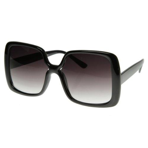 zeroUV - Womens Oversized Large Bold Square Fashion Sunglasses - Square Fashion Sunglasses