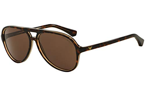 Emporio Arman EA4063 - 546573 Havana/Tortoise Sunglasses 58mm Brown ()