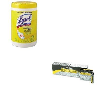 kiteveen91rac78849-value-kit-lysol-brand-disinfecting-wipes-rac78849-and-energizer-industrial-alkali