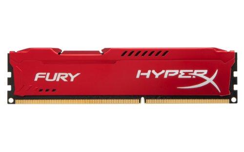 Kingston HyperX FURY 16GB Kit (2x8GB) 1333MHz DDR3 CL9 DIMM - Red (HX313C9FRK2/16) by HyperX (Image #1)