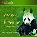 Uncle Lee's Tea Organic Green Tea Bags, 100 count(Case of 2)