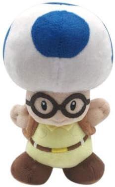 Amazon.com: Super Mario Bros Bule Toad con gafas y mochila ...