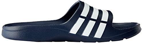 new Slide Adulto Unisex Adidas Navy new Chanclas Navy white Azul Duramo zwnZI