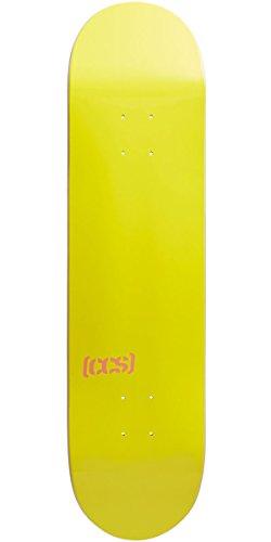 状態テンションステンレスCCSロゴ/ブランクスケートボードデッキ – Natural /色、複数のサイズ