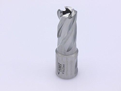 HSS Kernbohrer 16 mm Drm. Schnitttiefe 25 mm Aufnahme 19 mm Weldonschaft