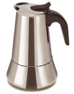 Comgas Cafetera acero inoxidable 6 Tazas (Vitro e inducción ...