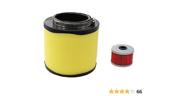 Filtro de aire y filtro de aceite ajuste para Honda Foreman 400 450 TRX400 trx450 Fourtrax Foreman 400 TRX400 Rancher 350 TRX350 ATV 17254-hn5 – 670