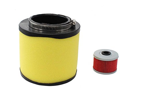 (Air Filter & Oil Filter Tune-Up For Honda Foreman 400 450 TRX400 TRX450 FourTrax Foreman 400 TRX400 Rancher 350 TRX350 ATV 17254-HN5-670)