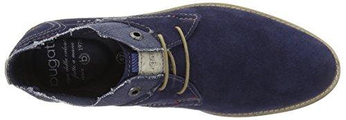 Scarpe Stringate Bugatti Unisex Blu Scuro (blu Scuro 4100)