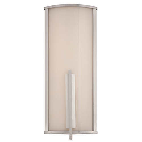 Wac Lighting Ws W2717 Al Spire 17  Led Outdoor Wall Light  Brushed Aluminum