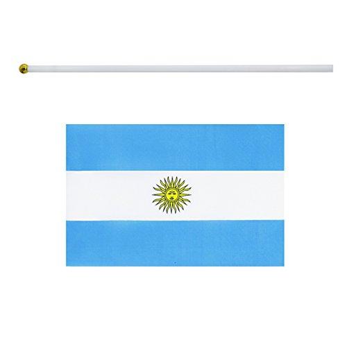 NaiseCore Bandera de Mano Mini [Argentina], Banderas ...