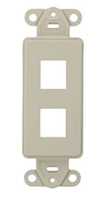 Leviton QuickPort Decora Insert 1-Port White