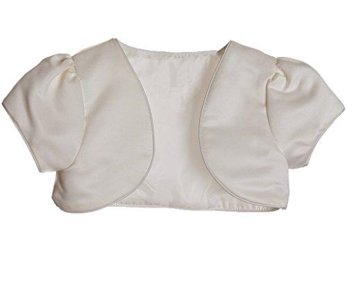 Girls short Bolero CREAM Size 4T (Baby Bolero)