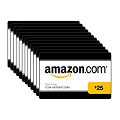 Amazon.com Gift Cards are the perfect way to give them exactly what they're hoping for--even if you don't know what it is. Amazon.com Gift Cards are redeemable for millions of items storewide, and never expire. Box of 50 physical Amaz...
