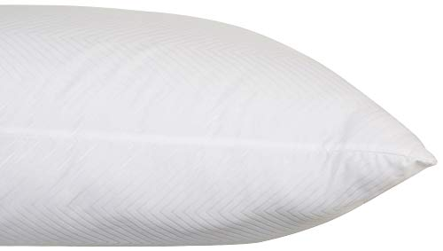 Hotel Pillows Chevron Embossed Bed Pillow Super Standard White 20 x 28