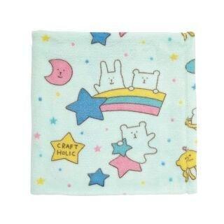 Craftholicソフトブルー星Baby Blanket – ユニセックスNursery Cozy Blanket forベビーカーとベビーベッド/幼児用ベッド – 27.5