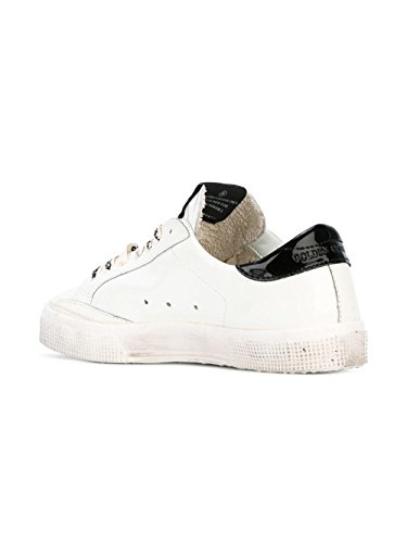 Golden Goose Sneakers Donna G31WS127F73 Pelle Bianco/Nero