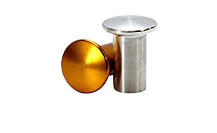 Gold ISR Performance Drift Knob Button for Nissan 240sx