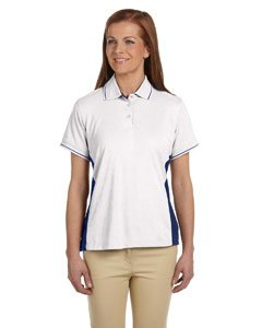 Devon & Jones Womens Dri-Fast Advantage Pique Polo (DG380W) -WHITE/NEW NA -2XL (Pique Knit Advantage)