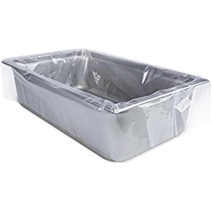 Heavy Duty Electric Roaster Liners Full Size Set of 10 (Fits 16 to 22 Quart, 34 x 18 Inch)