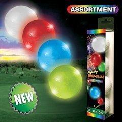 Night Flyer Lighted Golf Balls - 4 Ball Variety (Night Flyer Golf Ball)