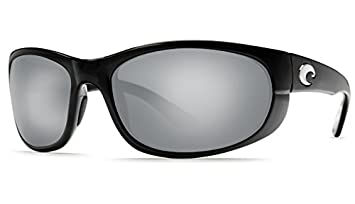 f9ed85c00f469 Image Unavailable. Image not available for. Color  Costa Del Mar Howler  Sunglass Shiny Black Copper Silver Mirror 580Glass