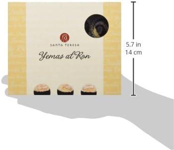 Santa Teresa Yemas con Ron - 3 Paquetes de 140 gr - Total ...