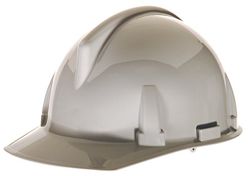 MSA 475379 Topgard Slotted Protective Cap with Fas-Trac Suspension, Standard, Gray ()