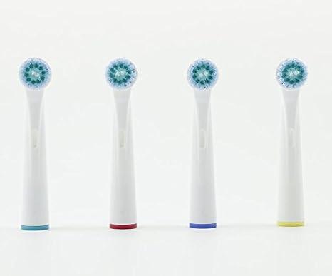 8pcs (2x4pc) hofoo ® reemplazo cabeza del cepillo Oral B cepillo de dientes Braun