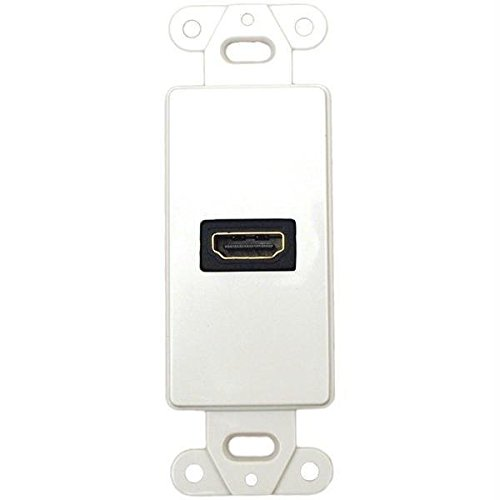 Datacomm Electronics 20-4501-WH Connect Wall Plate Insert