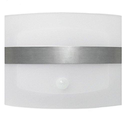 Aluminum Bright Motion Sensor Activated LED Wall Sconce Night Light - 7