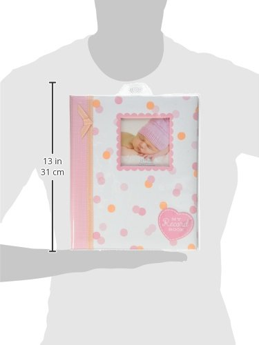 Lil Peach First 5 years Baby Memory Book, Cherish Every Precious Moment Of Your Baby, Perfect Baby Shower Gift, Pink and Peach Confetti Polka Dots by Lil Peach (Image #8)