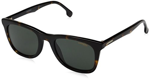 Carrera Men's Ca134s Wayfarer Sunglasses, Havana/Green, 51 - Sunglasses Carrera Wayfarer