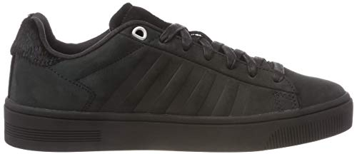 K Swiss Pony Low Black 091 Women's Black Frasco Court Top Slippers rrx4Hnq1w