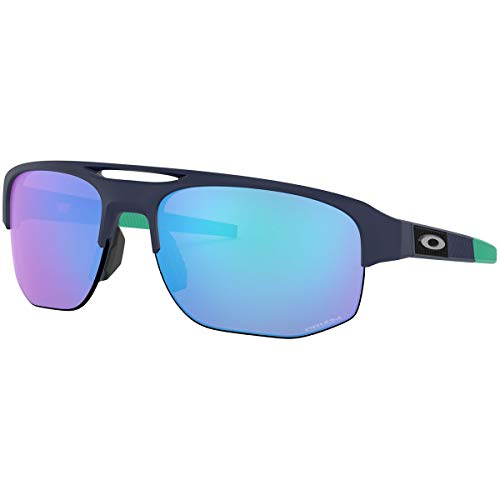 Oakley Men's Mercenary A Sunglasses,One Size,Matte Navy/Blue