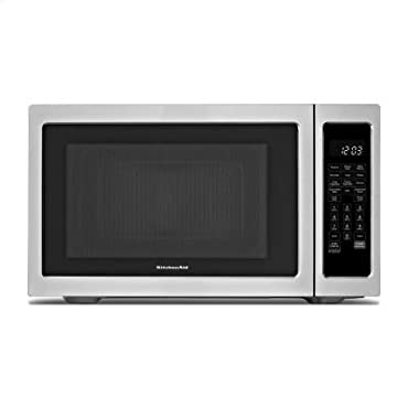 KitchenAid 1200-Watt Countertop Convection Microwave Oven Stainless Steel KCMC1575BSS