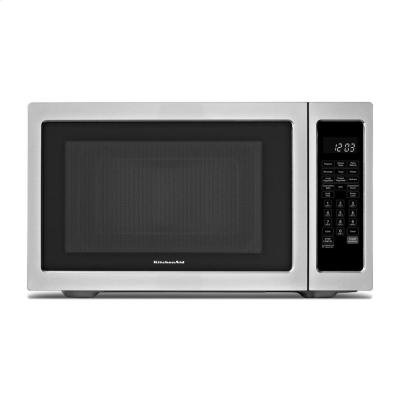 KitchenAid Architect Series II 1.5 Cu. Ft. Mid-Size Microwave Stainless Steel KCMC1575BSS