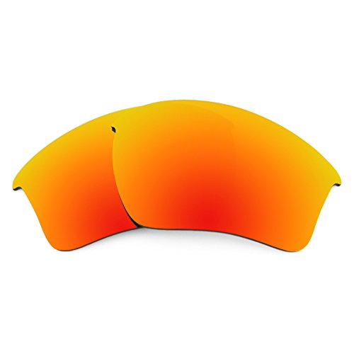 Revant Polarized Replacement Lenses for Oakley Half Jacket 2.0 XL Fire Red ()