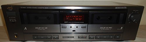 JVC TD-W207 Recordable Stereo Double Cassette Tape Deck With DDRP Dynamic Detection Recording Processor - Japan