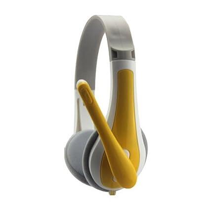 YOKIRIN®Escuchar Auriculares antiruido casco - Amarillo