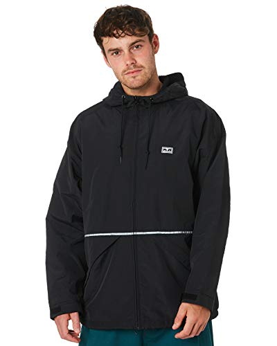Obey Giubbotto UOMO The Cape Jacket 121800358 (XL - Black ...