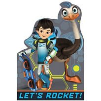 [Miles from Tomorrowland Invitations 8ct] (Childrens Costume Party Invitations)