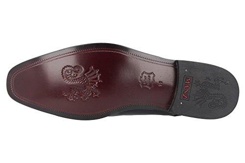 de Noir Manz Ville Lacets 49 à Chaussures Homme pour Noir qgArqUn8