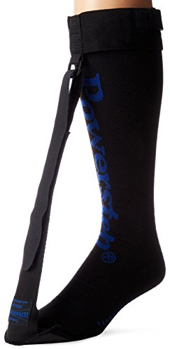 Powerstep UltraStretch Night Sock, Black, Regular
