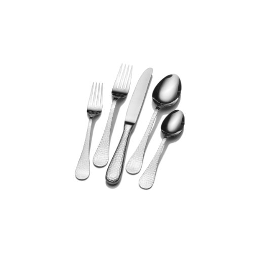 Wallace Home 5116717 Brooklyn 20-Piece Stainless Steel Flatware Set, Service for 4