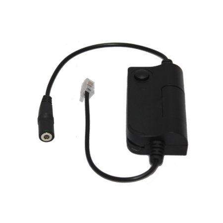 Headset Buddy 3.5mm iPhone Headset to Universal RJ9/RJ10 Phone Switch