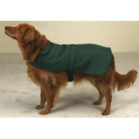 Casual Canine Reversible Barn Coat for Dogs – Green – XX-Large (XXL)