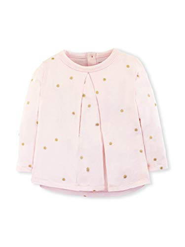 Colored Organics Baby Girls Organic Cotton Sophie Swing Top - Sweet Pea/Sprinkle Star - 18-24M ()