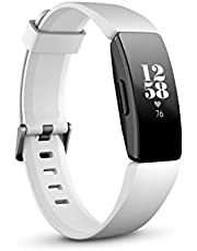 Fitbit  Inspire Heart Rate and Fitness Tracker, White/Black